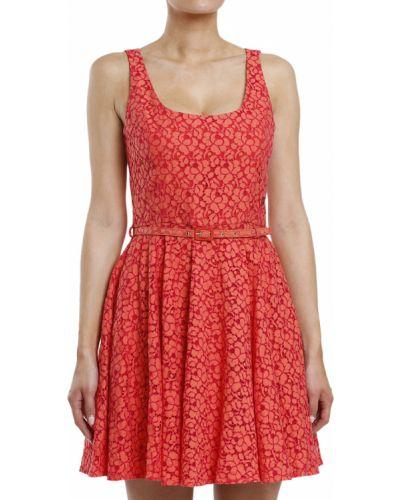 Хлопковое платье - красное John Galliano