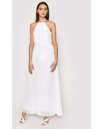 Biała sukienka wieczorowa Michael Michael Kors