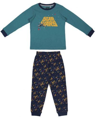 Piżama bawełniana - zielona Star Wars