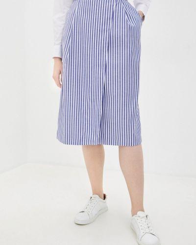 Синяя юбка свободного кроя Annborg