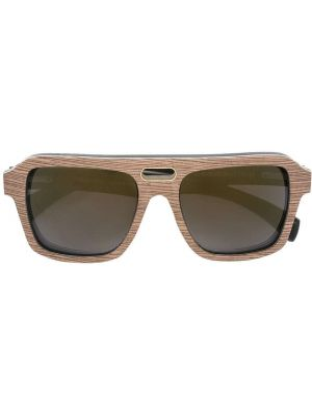 Солнцезащитные очки хаки с завязками Gold And Wood