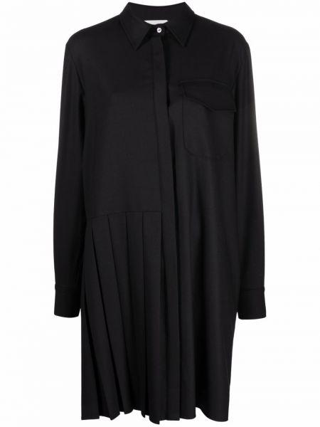 Черное платье рубашка P.a.r.o.s.h.