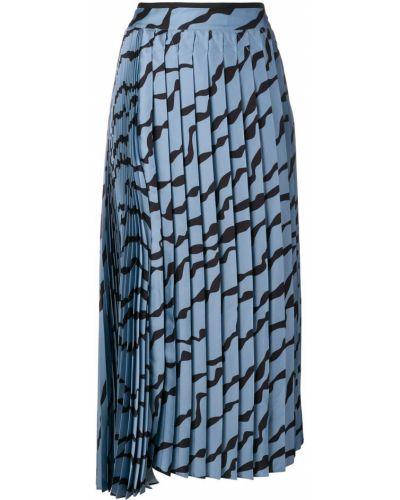 Плиссированная юбка миди Victoria, Victoria Beckham