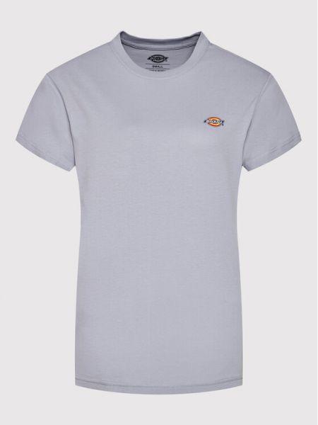 T-shirt - fioletowa Dickies