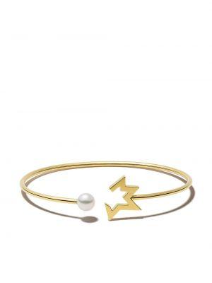 Золотой браслет золотой с жемчугом Tasaki