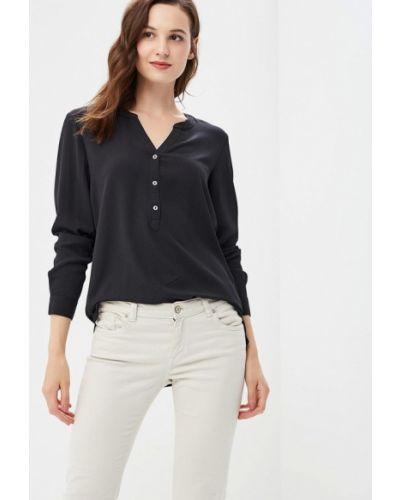 Черная блузка с длинным рукавом Jacqueline De Yong