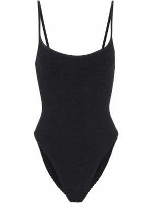 Нейлоновый черный купальник для бассейна Hunza G
