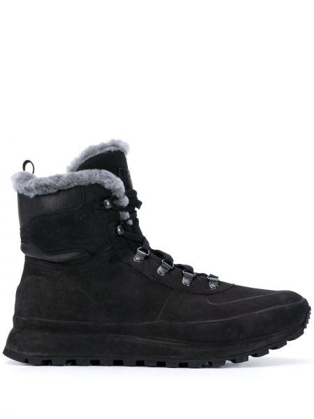 Кожаные ботинки треккинговые на шнуровке Officine Creative