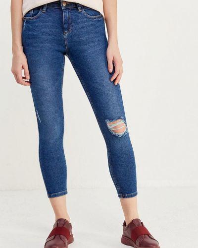 Синие джинсы-скинни Dorothy Perkins