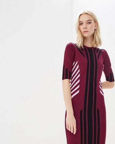Джинсовое платье осеннее красный Versace Jeans