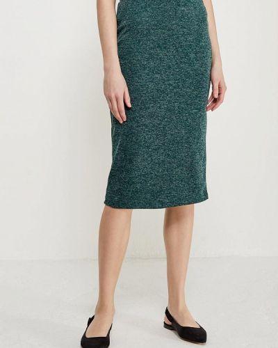 Зеленая юбка льняная Alina Assi