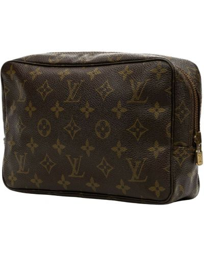 Brązowa kosmetyczka Louis Vuitton Vintage