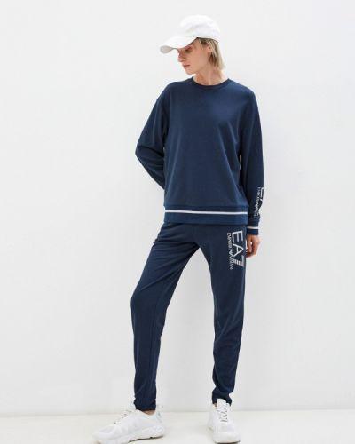 Спортивный костюм - синий Ea7