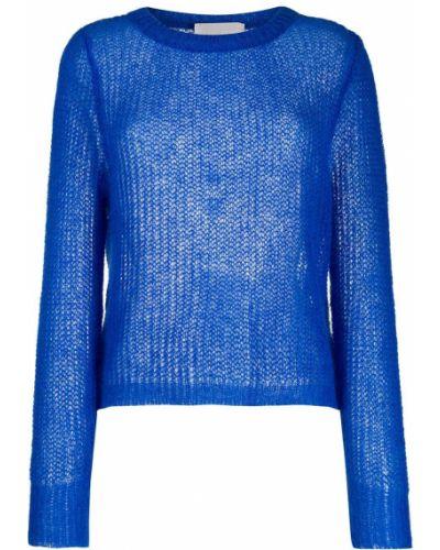 Синий джемпер из мохера Chiara Bertani