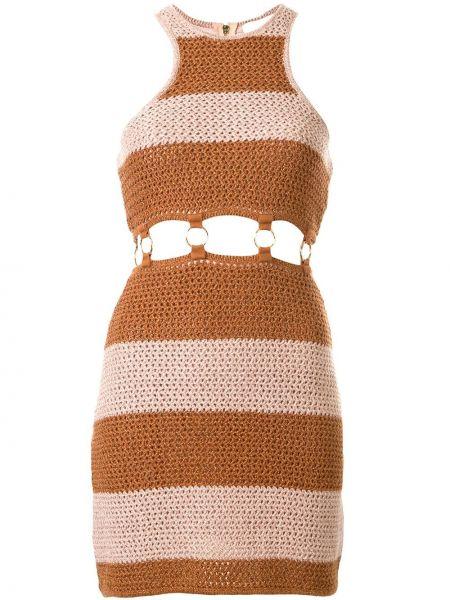 Платье мини макси в полоску Alice Mccall