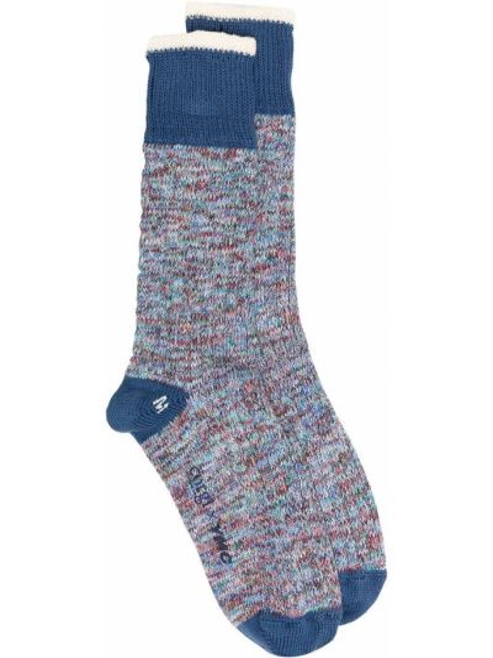 Trykotowy bawełna niebieski bawełna skarpety Ymc