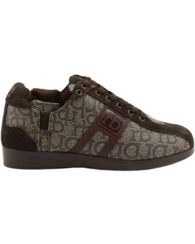 Brązowe sneakersy Roccobarocco
