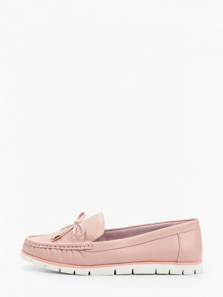 Розовые мокасины Zenden Comfort