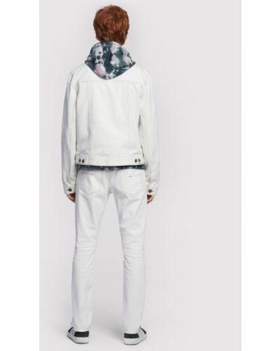 Biała kurtka jeansowa Vistula