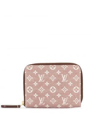 Biały portfel skórzany Louis Vuitton