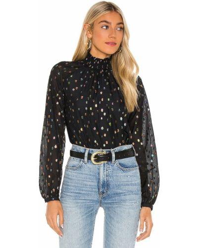Шифоновая блузка - черная Yumi Kim