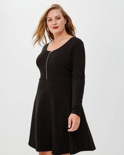 Черное платье с длинными рукавами Brave Soul