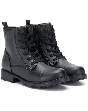 Ботинки на молнии на шнуровке Geox Kids