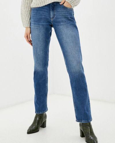 Прямые джинсы - синие Q/s Designed By