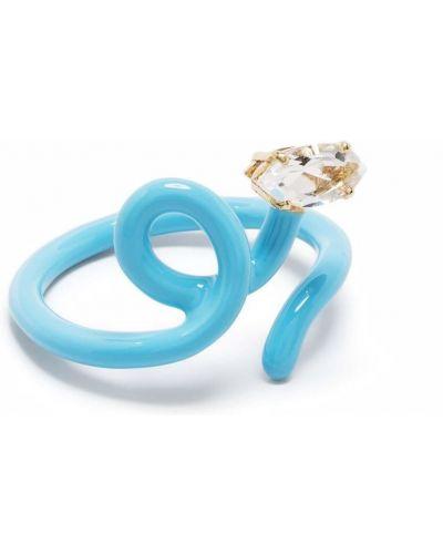 Niebieski pierścionek Bea Bongiasca