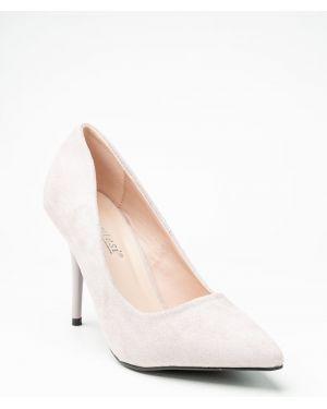 Серые туфли новогодние Meitesi