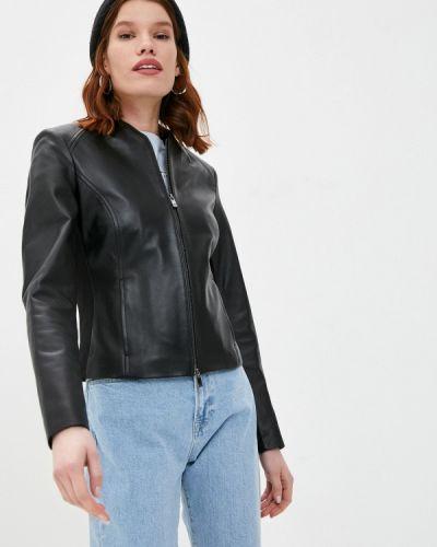 Кожаная куртка - черная Arma