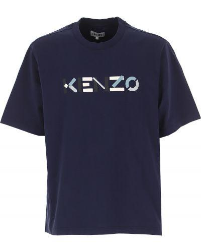 Z rękawami bawełna bawełna t-shirt Kenzo