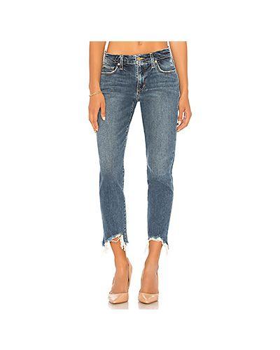 Джинсы-скинни рваные mom Joe's Jeans