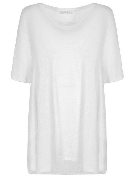 Футбольная свободная футболка со стразами с V-образным вырезом Le Tricot Perugia
