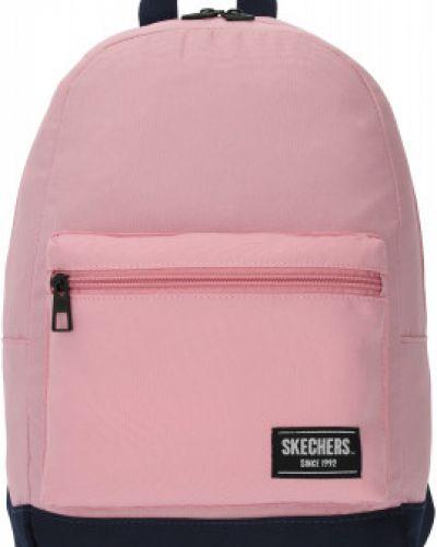 Розовый рюкзак с карманами на молнии Skechers