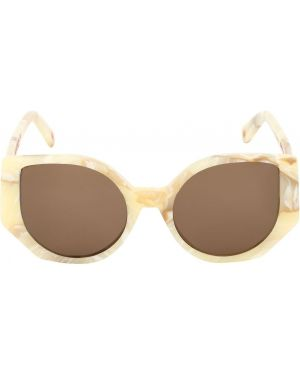 Białe okulary Ophy