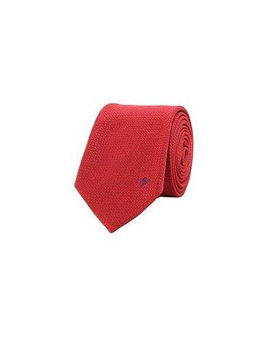 Красный галстук Versace