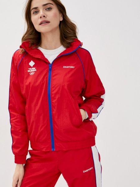 Спортивная куртка весенняя облегченная Zasport