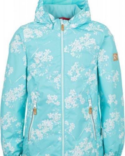 Утепленная куртка с капюшоном демисезонная водонепроницаемая Reima