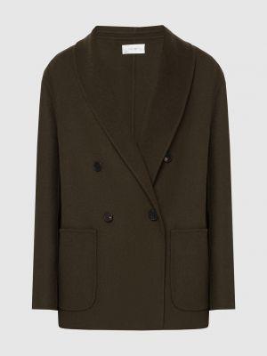 Шелковый зеленый пиджак The Row