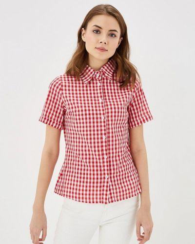 Рубашка с коротким рукавом леопардовая красный Sk-house
