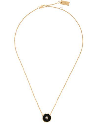 Czarny medalion Marc Jacobs