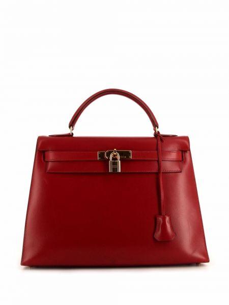 Złota torebka Hermes