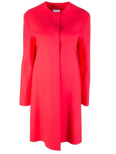Шерстяное пальто - розовое Agnona