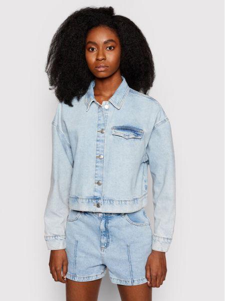 Kurtka jeansowa - niebieska Na-kd