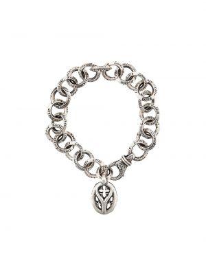 Массивный серебряный браслет Loree Rodkin