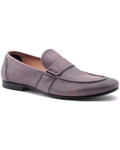 Коричневые туфли с перфорацией Fabi