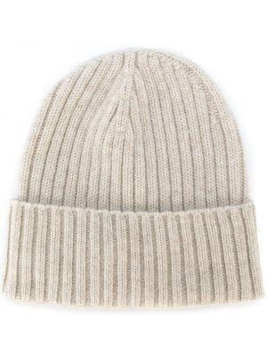Кашемировая шапка в рубчик Dell'oglio