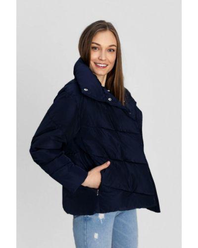 Синяя утепленная куртка O'stin