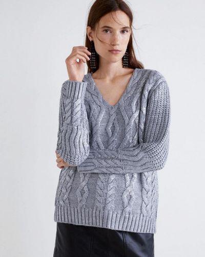 Пуловер серебряного цвета Mango